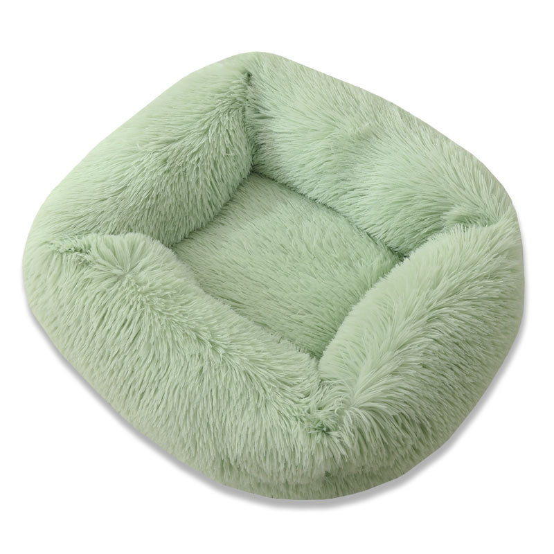 Super Soft Dog Bed House Dog Mat Plush Cat Mat Cats Nest For Large Dogs Bed Labradors House Round Cushion Pet Product Supplies 17