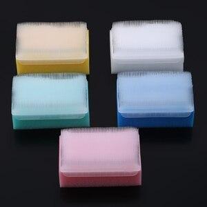 5 pièces enfants brosse sensorielle bébé bain éponge brosse chirurgicale mains prothèse brosse de nettoyage stérile éponge gommage brosse à poils