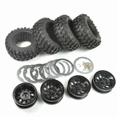 ARC0033 1/10 Crawler 96mm Band Set 1.9Inch Beadlock Wielen Velgen voor RC4WD D90 Tamiya CC01 Hoge Kwaliteit 1:10 RC Auto Velgen