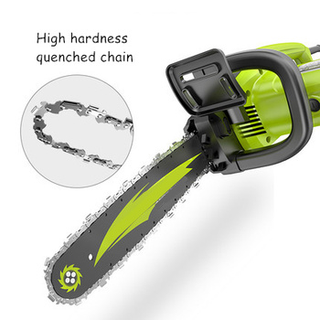 Kettingzaag Logging Zag Huishouden Kleine Handheld Elektrische Kettingzaag Snijden Zag Draagbare Kettingzaag Ketting Elektrische Zaag