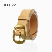 Handmade belt buckles for men thick natural vegetable tanned