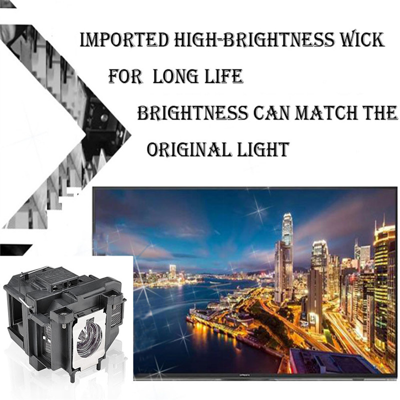 Image 3 - Compatible EB X04 EB X27 EB X29 EB X31 EB X36 EX3240 EX5240  EX5250 EX7240 EX9200 for Epson ELPLP88 V13H010L88 Projector  lampProjector Bulbs
