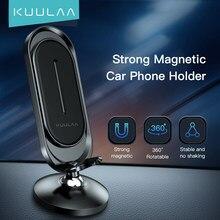 KUULAA – Support de voiture magnétique pour téléphone portable, universel, GPS, pour iPhone 12 11 Pro Max X 8 Huawei