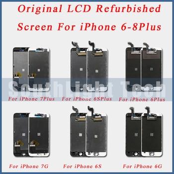 Grade AAA+++ Original LCD Refurbished Screen Display For iPhone 6S 7 8 Plus Original LCD Display Touch Screen Digitizer original lcd screen replacememt for chuwi hi10 cw1526 lcd screen display free shipping