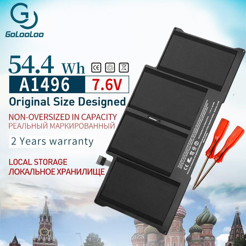 Golooloo A1496 7.6V batterie d'ordinateur portable pour Apple MacBook Air 13