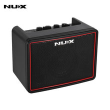 NUX Mighty Lite BT Mini Desktop Electric Guitar Amplifier 3 Channels Built-in Delay Reverb Effect 9 Drum Patterns Metronome(China)
