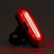 120 lumenów USB światło tylne roweru akumulator potężny LED tylne światło rowerowe noc jazda dzień wilk gwiazda światło ostrzegawcze do jazdy na rowerze tanie tanio NONE CN (pochodzenie) rain waterproof design Koła szprychy Baterii LED chip COB 120 lm Red white red blue red white red blue pink 7-color
