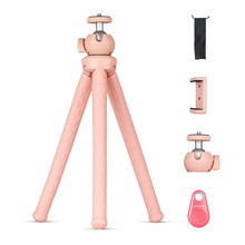 Octopus Tripod For Phone Camera Desktop Stand Holder Clip Bluetooth Remote Control Tripods Para Movil Monopod Video Selfie Stick fghgf bluetooth remote tripod bracket for iphone mini portable mount monopod extendable camera stand universal phone tripods