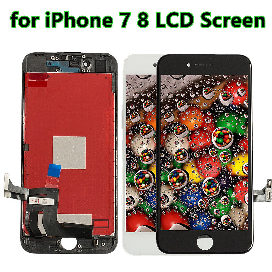 5 PCS/Lots Replacement LCD For iPhone 8 Display Digitizer Touch Screen Assembly for iPhone 6 6S 7 image
