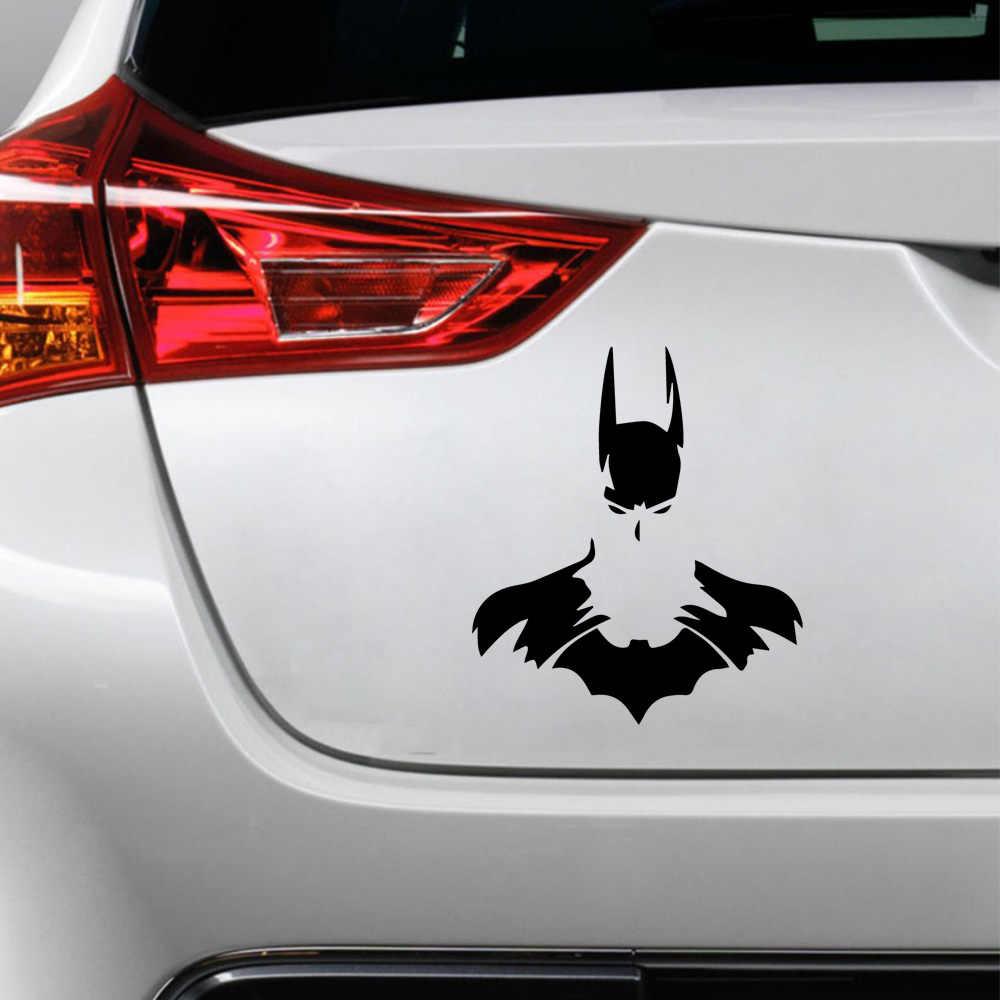 น่ารัก Batman สติกเกอร์วอลล์เปเปอร์ Superhero ตลกหน้าต่างไวนิลสติ๊กเกอร์รถ-จัดแต่งทรงผมกาวสัญลักษณ์สติกเกอร์รถอุปกรณ์เสริม
