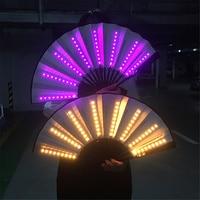 حفلة LED متوهجة مروحة المرحلة الأداء تظهر تضيء مروحة الأطفال حفلة عيد ميلاد هدية الزفاف ليلة بار نادي الفلورسنت الدعائم