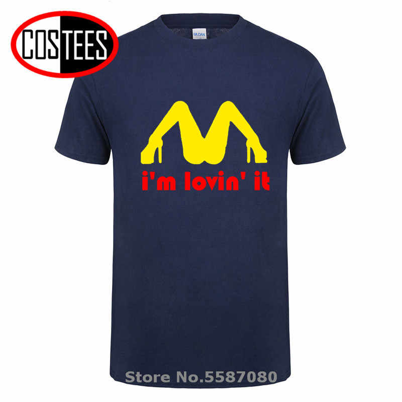 Tricolor kocham to nieodpowiedni obraźliwy seks T Shirt mężczyźni zabawny Humor żart niegrzeczny letni bawełniany T-shirt z krótkim rękawem Tshirt
