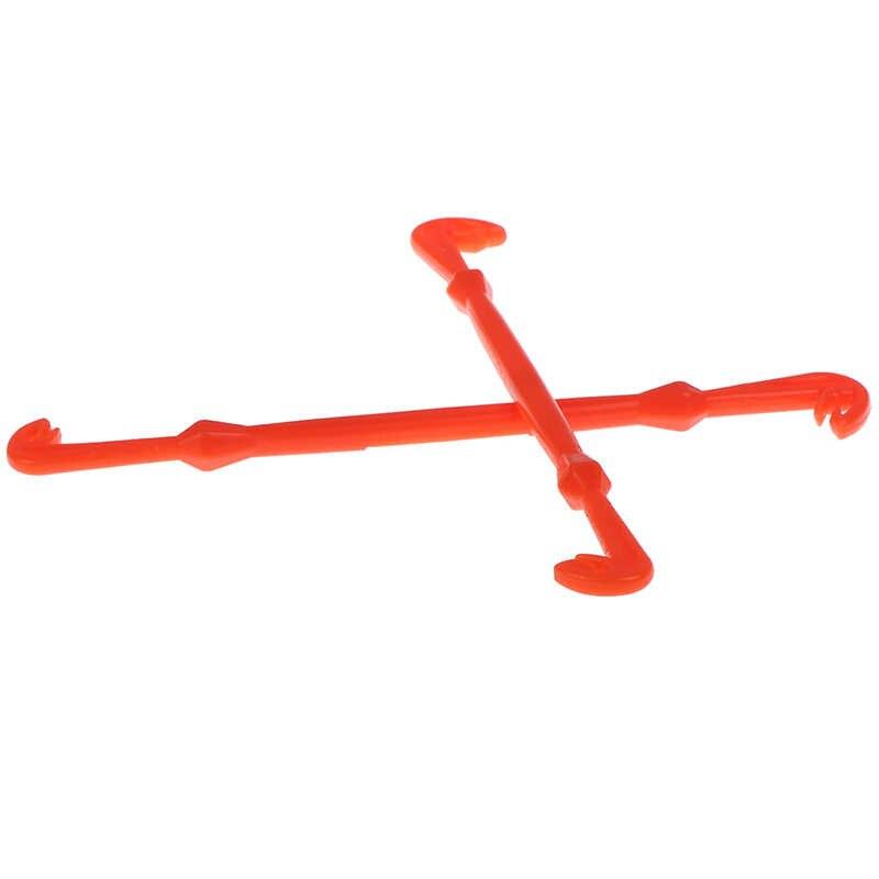 1 ud. Gancho de pesca con mosca, Kit de nivel de línea, herramienta fácil de enganchar, herramienta de desenganche, herramienta de amarre rápido, nudo de clavo, herramientas de atado de moscas, cajas de aparejos de pesca