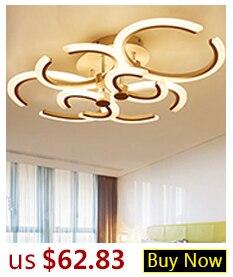 H4de41a419b844939b22dbf9a17af1ab27 Hot Sale Modern LED Ceiling Lights For Living Room Bedroom Dining Room Luminaires White&Black Ceiling Lamps Fixtures AC110V 220V