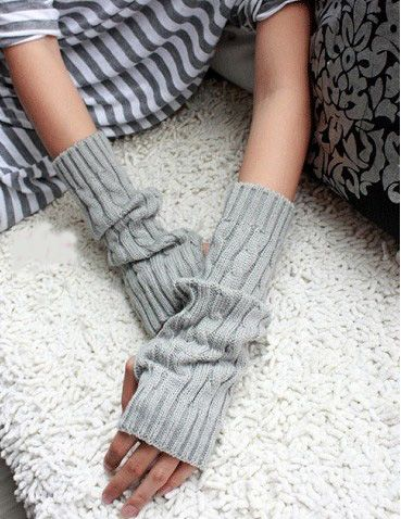 Pair Keep Warm Arm Sleeve Sweet Vogue Modelling  Fingerless Gloves/wrist/arm/package
