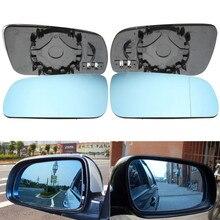 Левое правое синее с подогревом Электрическое широкоугольное крыло зеркало стекло для VW Golf MK4 1996 1997 1998 1999 2000 2001 2002 2003 2004