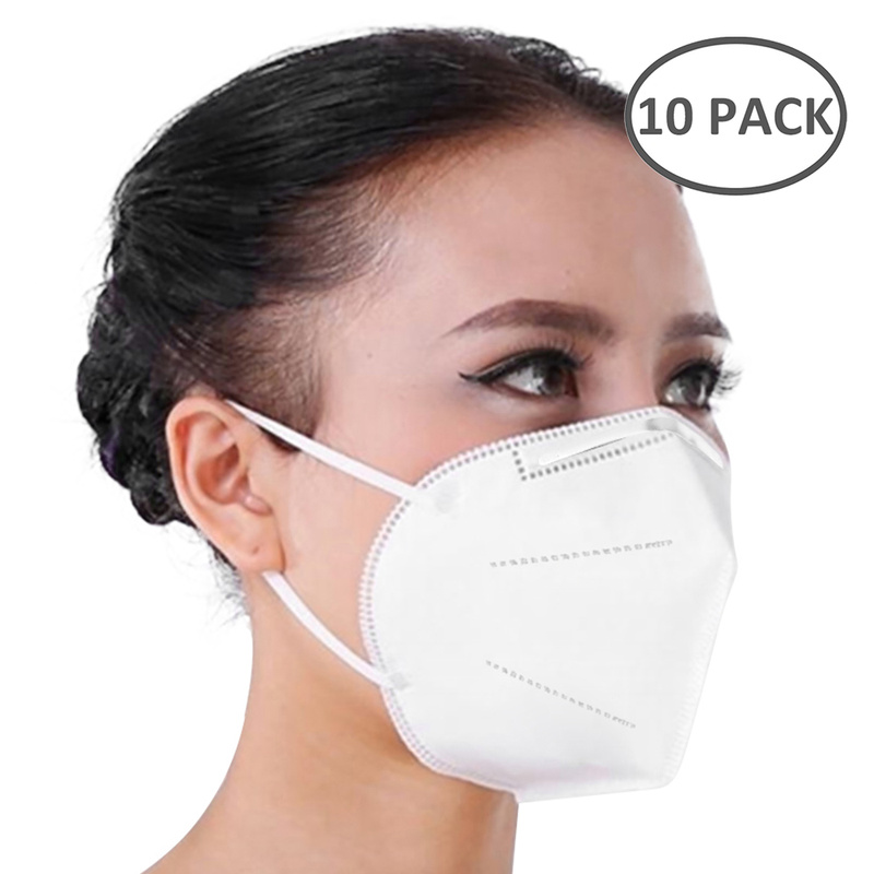 10pcs KN95 Medical Masks 3 Layers Fine Air Filter Dust Face Mask  KN95 Personal Protect Home Health Care Mask In Stock