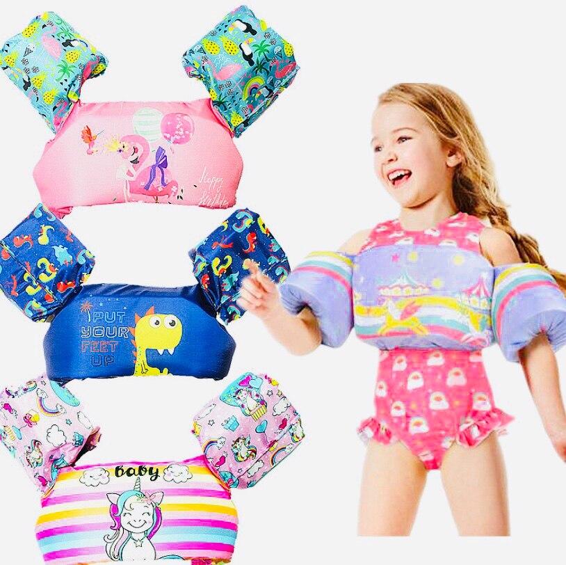 Cartoon PUDDLE JUMPER Baby Life Vest Life Jacket 2-6Y 10-25kg Weight