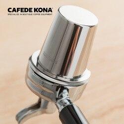 Cafede Kona Mini Thép Không Gỉ Cà Phê Đánh Hơi Cốc Tập Ăn Bột Máy Pha Cà Phê Kèm Quai Cầm Tay Máy Xay Cà Phê Trợ Lý