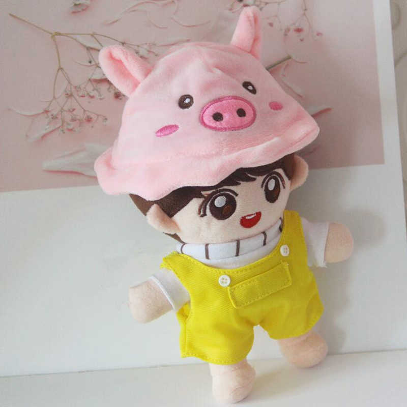 kpop doll clothes EXO Plush Dolls Toy Stuffed Doll Clothes Cute Soft Dolls Collection  Gift Toys For Children Birthday