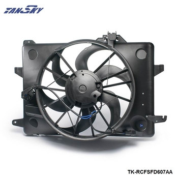 Radiator Condenser Cooling Fan For Ford Mercury F8VZ8C607AA TK-RCFSFD607AA