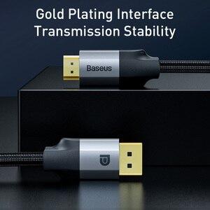 Image 2 - Baseus dp do hdmi kabel 4K z męskiego na męskie port wyświetlacza displayport do hdmi adapter do kabla do projektora PS4 PC konwerter hdtv przewód