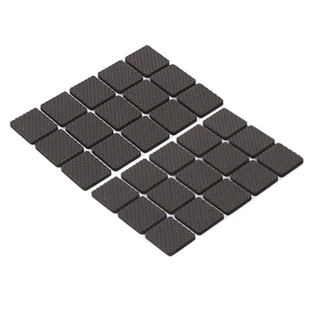 Non-slip Table Foot Pad Chair Pad Non-slip Protection Pad EVA Table Chair Foot Adhesive Base Mat Furniture Office