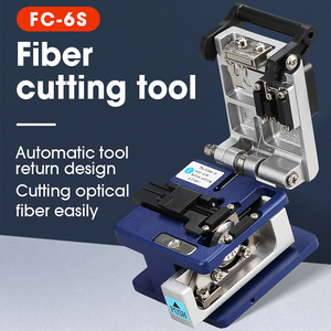 Image 2 - FC 6S FTTH Optical Fiber Cleaver metal Small High Precision Fiber cutting cable cold connection cutter tool