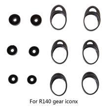Funda protectora de silicona para Samsung Gear iConX SM R140, accesorios para auriculares Bluetooth, 3 pares