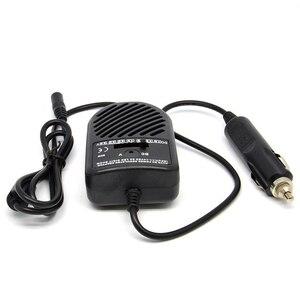 Image 2 - 80ワットユニバーサル車の充電器自動dc 12v電源アダプタ電源の充電ノートパソコンのpc用充電アダプタで車のシガープラグ