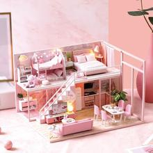 GloryStar DIY Doll House Furniture Meeting Your Sweet Life Mini Dollhouse Toy