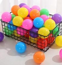 Piscine d'eau en plastique souple surdimensionnée écologique, 50/100 pièces, boule ondulée océan, jouets amusants pour bébé, Sports d'extérieur amusants, 5.5/7/8 cm