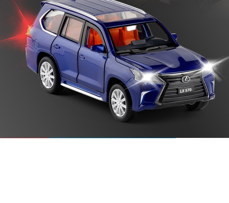 Lexus LX570 Model Toy Car with Lights 16