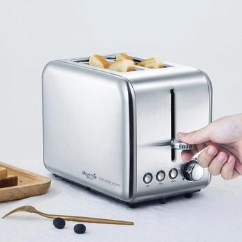 LAST ONE Deerma Bread Electric Toaster Baking Machine Household Automatic Breakfast Toast Sandwich Maker Reheat Kitchen Grilll 6