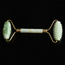 Natural Jade Roller Face Massage Face Lift Thin Massager Tools For Health Care