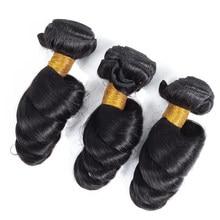 Tissage en lot malaisien Non Remy-Admutty Hair | Cheveux 100% naturels, Loose Wave, couleur naturelle, Extensions capillaires