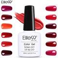 Elite99 винно-красный гель лак для ногтей гель лак Полупостоянный замочить от дизайна ногтей Маникюр УФ гелевое покрытие для ногтей лак