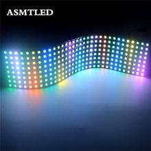 5V 5050 RGB Matrix led Pixel module light 8*8 16*16 8*32 Pixel WS2812B WS2812 pannello flessibile digitale indirizzabile individualmente