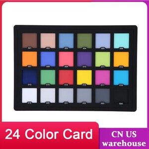Image 1 - Andoer Professional 24 Color Card Test Balancing Checker Card Palette Board for Superior Digital Color Correction