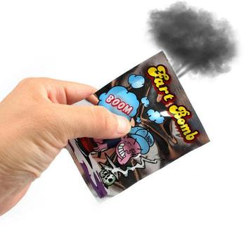 Funny Fart Bomb Bags Aroma Bombs Smelly Stink Bomb Gift April Joke Day Toy Bag Fool's Tricky Funny Stinky J1V9 image