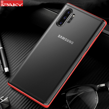 Funda IPAKY para Samsung Note 10, funda Magic Shadow S10E S10 Plus, funda blanda antigolpes híbrida para PC, funda para Samsung Note 10 Plus