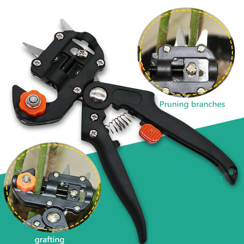 <font><b>Grafting</b></font> <font><b>machine</b></font> <font><b>Garden</b></font> <font><b>Tools</b></font> with 3 Blades Tree <font><b>Grafting</b></font> <font><b>Tools</b></font> Secateurs Scissors <font><b>grafting</b></font> <font><b>tool</b></font> Cutting Pruner image