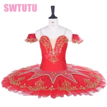 women red professional ballet tutu,classical tutu for girls,adult costumes performance BT9067