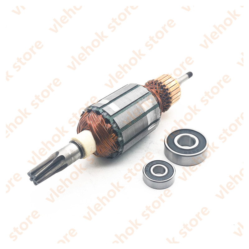 AC220V-240V Armature Rotor Replace For MAKITA HR4010C HR4001C HR4011C HR4001CX 513633-7 Power Tool Accessories Electric Tool