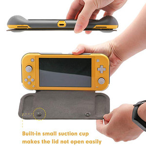 Image 4 - Switch Lite Protection Case Non slip Scratch Game Grip Case Cover PC Leather Shell For Nintend Switch Lite Console Accessories