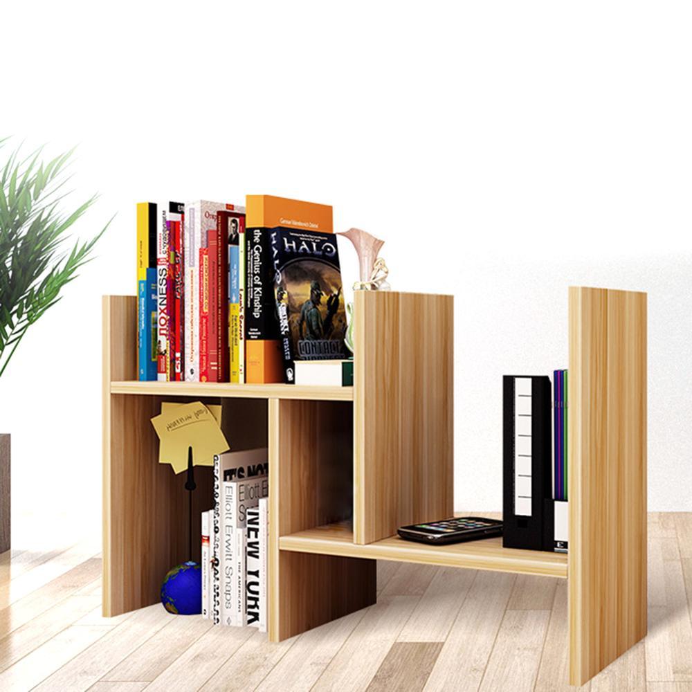 Schreibtisch Lagerung Organizer Einstellbare Desktop Display Regal Rack Mehrzweck Bücherregal für Büro Küche