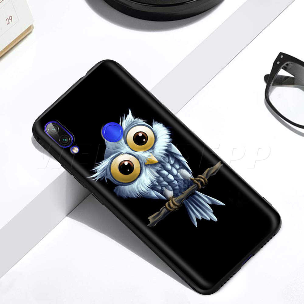 Hewan Burung Hantu Case untuk Xiaomi Redmi 4A 4X5 5A 6 6A 7 7A S2 Go K20 Pro plus Prime 8T
