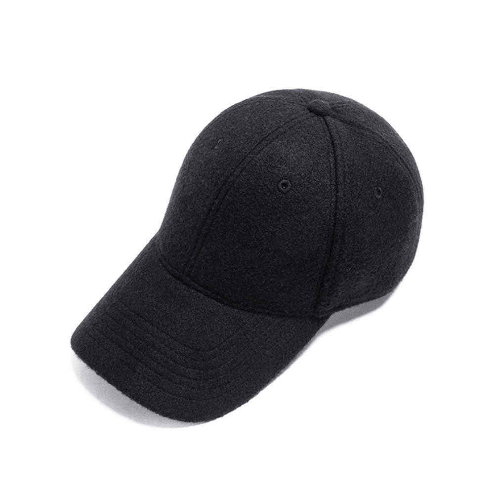 [AETRENDS] 6-لوحة الشتاء رشاقته الصوف قبعة بيسبول النساء الرجال قبعة سائق الشاحنة في الهواء الطلق التنزه التخييم قبعة Snapback Z-10039
