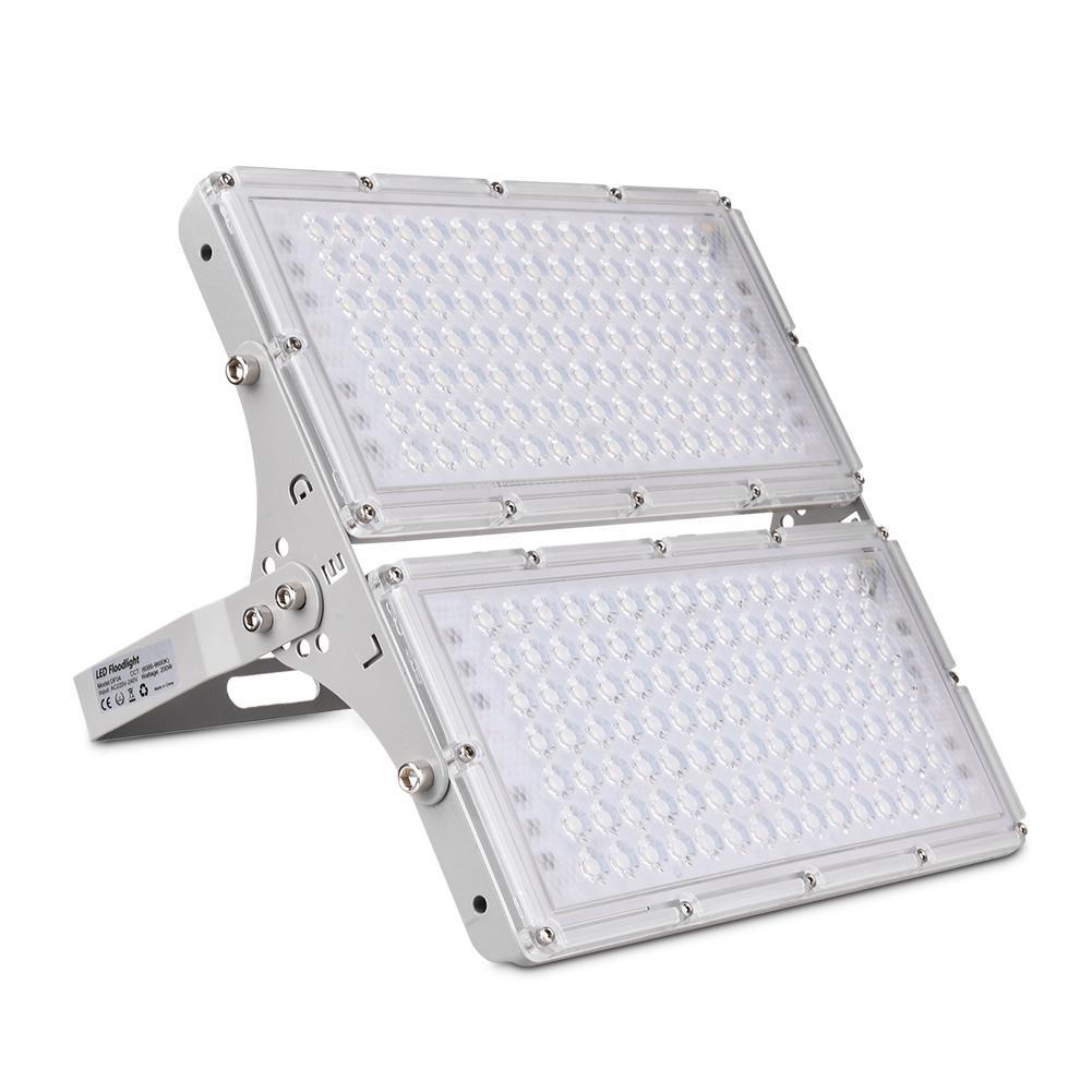 Ultra-thin LED Garage Light Generation Module LED Floodlight 200W/100W AC 220V Lighting Cool White IP65 Outdoor Lighting 16000LM