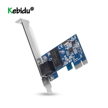PCI Express PCI-E Network Card 1000Mbps Gigabit Ethernet 10 100 1000M RJ-45 LAN Adapter Converter Network Controller Newest cheap kebidu Wireless 10 100 1000Mbps Internal Laptop 600 Mbps 802 11n 1000M Ethernet TOM000063